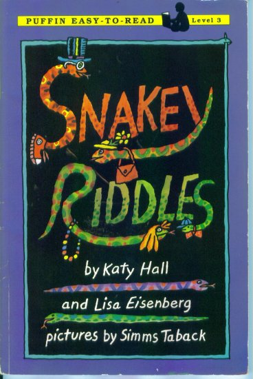 Puffin Easy To Read Level 3 Snakey Riddles Katy Hall and Lisa Eisenberg Home School location102