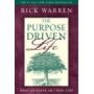 Rick Warren The Purpose Driven Life Hardcover Christian Living location102