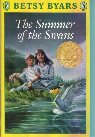 The Summer of the Swans ~ Betsy Byars ~ Childrens Chapter Book ~ Paperback