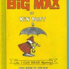 Big Max The World's Greatest Detective ~ Kin Platt ~ An I Can Read Mystery ~ Childrens