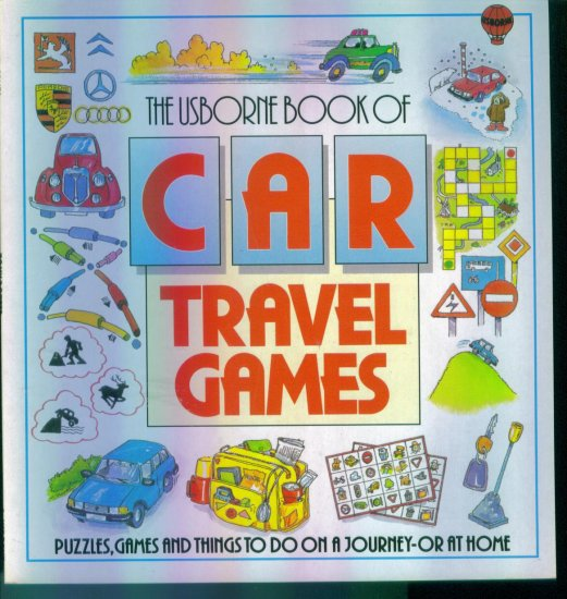 The Usborne Book of Car Travel Games ~ Puzzles Games and Things to Do location96