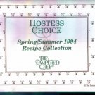 Hostess Choice Spring Summer 1994 Recipe Collection The Pampered Chef Cook Book Cookbook location102