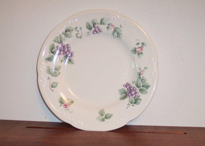 Pfaltzgraff Salad Plates Plate Grapevine Dinnerware Dishes locw18