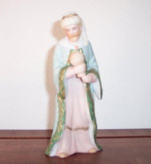 Vintage LEFTON 07165 1989 Geo Z Lefton WISE MAN Designed by A  Fabrini Figurine