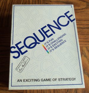 Sequence Board Game Complete Like New location4