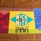 Nick at Nite Classic TV Trivia Game Cardinal  Complete Like New Box2