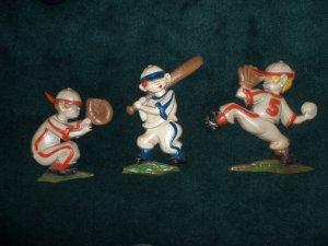 Vintage Sexton 1970 Baseball Theme Players Wall Art locational2
