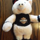 Harley Davidson Pig International Toys & Novelties Plush Stuffed Animal Toy locationO2