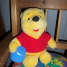Mattel Inc 1997 Winnie The Pooh Stuffed Animal Plush Toy locationO4