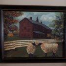 Hancock Sheep by artist Pam Britton locationupst