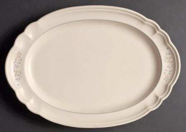 Pfaltzgraff 12 3/4 Oval Serving Platter Remembrance Retired Dinnerware Dishes location149