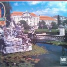 Big Bend Milton Bradley MB Statue Castle 1000 Piece Puzzle Finished 20 1/8 x 26 3/16 Locw21