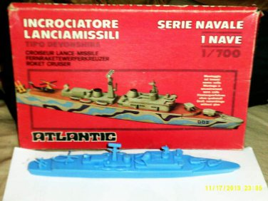 1/700 Missile Destroyer Devonshire Model by Atlantic