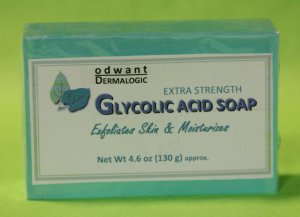 Glycolic Acid Soap Anti Aging Anti Acne Bar