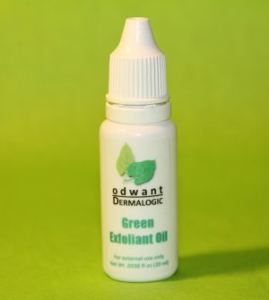 Green Peeling Oil Exfoliant 20ml Exfoliant from Fruit Acids Extract