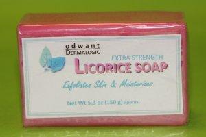 Odwant Dermalogic Pink Licorice Soap Skin Whitening Lightening Bleaching for Sensitive Skin