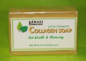 Collagen Soap Anti Wrinkle Anti Aging Age Defying Soap Odwant Dermalogic