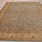 9x12 RUG PERSIAN VEGETABLE DYE GHAZNI WOOL BLUE IVORY