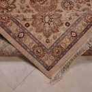 9x12 RUG PERSIAN VEGETABLE DYE GHAZNI WOOL SILK BEIGE