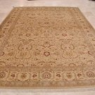 9x12 AREA RUG PAK PERSIAN VEGETABLE DYE WOOL SILK IVORY