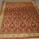 10x13 RED IVORY GREEN GOLD RUG SHAW HOME 3V176/04800 NYLON NEW STATEROOM