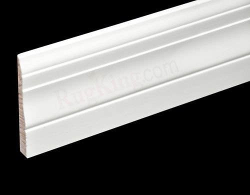 3 1 4 primed colonial baseboard pine wood molding for Colonial trim molding