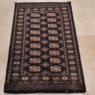 NEW 2.7x4.4 HANDMADE WOOL AREA RUG TRIBAL BOKHARA NAVY