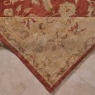 9x12 AREA RUG PERSIAN VEGETABLE DYE WOOL RED RUST GOLD