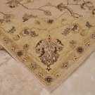 9x12 RUG PERSIAN VEGETABLE DYE GHAZNI WOOL BEIGE GOLD