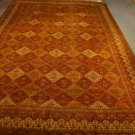 12x18 RUG HAND SPUN MASTERPIECE BLACK GOLD IVORY MIX