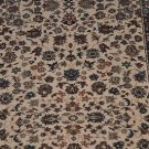 "26"" WIDE UNBOUND RUNNER BEIGE BLUE BUY BY LINEAR FT RUG"