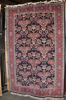 6x9 WOOL AREA RUG BEAUTIFUL HANDMADE KASHAN PERSIAN NEW
