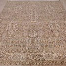 8x10 WOOL HAND KNOTTED AREA RUG IVORY BGE PERSIAN FINE