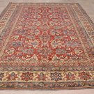 NEW 10x14 WOOL AREA RUG KAZAK TRIBAL RED IVORY BLUE