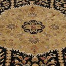 NEW 10x14 WOOL AREA RUG FINE MASTERPIECE BLACK GOLD RED