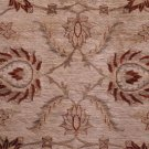 7x10 RUG CHOBI IVORY RUST HANDMADE VEGETABLE DYE WOOL