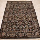 NEW FINE 4x6 WOOL AREA RUG VEGETABLE DYE PERSIAN BLACK
