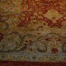 12x18 HANDMADE AREA RUG CHOBI VEGETABLE DYE RUST GRAY