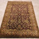 NEW 4x6 KASHAN PERSIAN WOOL AREA RUG HANDMADE IN INDIA