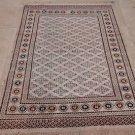 NEW 4x6 TRIBAL BOKHARA WOOL RUG HANDMADE IN PAKISTAN