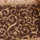 "25.25"" WIDE UNBOUND RUNNER BROWN BEIGE BUY BY THE FOOT"