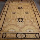 10x14 WOOL AREA RUG PERSIAN MAGNIFICENT SWAN HANDMADE