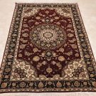 4x6 WOOL/SILK HANDMADE AREA RUG FINEST QUALITY CHINESE