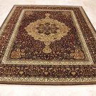8x10 WOOL HANDMADE AREA RUG RED PERSIAN MASTERPIECE