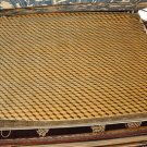 9x12 WOOL AREA RUG INDO NEPAL ABSTRACT MODERN HANDMADE GOLD TAN 3D