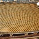 9x12 WOOL AREA RUG INDO NEPAL ABSTRACT MODERN HANDMADE GOLD TAN 3D