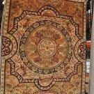 9x12 WOOL RUG PERSIAN TRIBAL HANDMADE GEOMETRIC GOLD