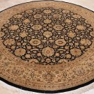 10x10 FOOT ROUND AREA RUG HANDMADE PERSIAN DINING ROOM