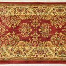 NYLON SHAW RED IVORY 26 INCH WIDE 19 FOOT LONG RUNNER