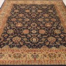 8x10 WOOL HANDMADE RUG BLUE BEIGE MASTERPIECE PERSIAN